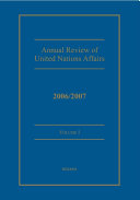 Annual Review of United Nations Affairs