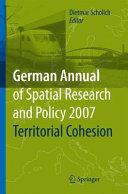 Territorial Cohesion Pdf/ePub eBook