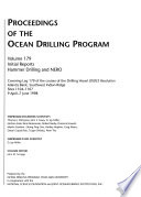 Proceedings of the Ocean Drilling Program Book PDF