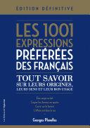 Pdf 1001 expressions préférées des Français Telecharger