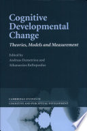 Cognitive Developmental Change