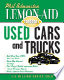 Lemon-Aid Used Cars and Trucks 2011-2012
