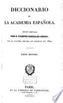 Diccionario de la Academie Española  , Band 2