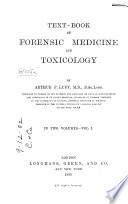 Text-book of Forensic Medicine and Toxicology