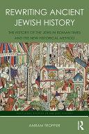 Rewriting Ancient Jewish History