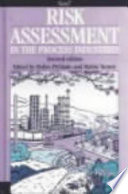 Risk Assessment in the Process Industries Book