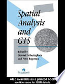 Spatial Analysis And GIS