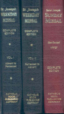 St Joseph Complete Missal Set