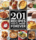 Taste of Home 201 Recipes You'll Make Forever Book