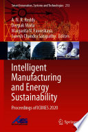 Intelligent Manufacturing and Energy Sustainability Book