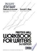 Prentice-Hall Workbook for Writers