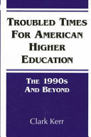 Pdf Troubled Times for American Higher Education