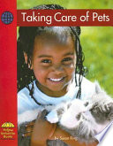 Taking Care Of Pets