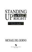 Standing Up for What's Right