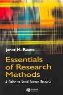 Essentials Of Research Methods Book PDF
