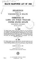 Health Manpower Act of 1968