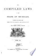 The Compiled Laws of the State of Michigan