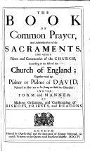 Pdf The Book of Common Prayer, Etc. B.L.