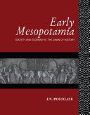 Early Mesopotamia