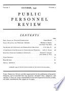 Public Personnel Review