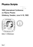 International Conference on Plasma Physics  ICCP