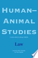 Human Animal Studies  Law