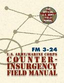 The U  S  Army Marine Corps Counterinsurgency Field Manual