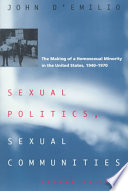 Sexual Politics Sexual Communities