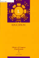 Library Of Congress Classification L Education Book PDF