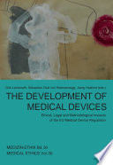 The Development of Medical Devices Book
