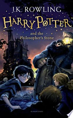 Book cover of 'Harry Potter and the Philosopher's Stone' by J. K. Rowling