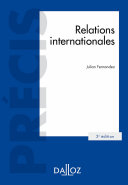 Pdf Relations internationales - 2e éd. Telecharger