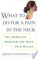 What to do for a Pain in the Neck