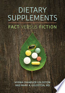 Dietary Supplements  Fact versus Fiction Book