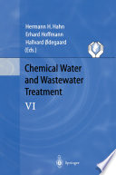 Chemical Water and Wastewater Treatment VI Book