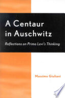 A Centaur in Auschwitz Book