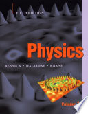 Physics 5th Edition, Volume 1 with WileyPLUS Card Set