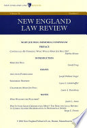 New England Law Review  Volume 50  Number 3   Spring 2016