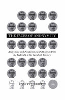 Pdf Faces of Anonymity