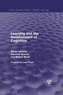 Pdf Learning and the Development of Cognition (Psychology Revivals) Telecharger