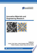 Innovative Materials and Engineering Research Book