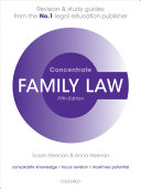 Family Law Concentrate