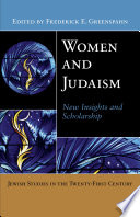 Women And Judaism Book PDF