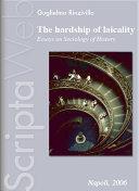 The hardship of laicality