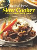 Taste of Home Slow Cooker Mini Binder Book