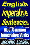 English Imperative Sentences   Most Common Imperative Verbs