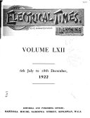 Electrical Times     Book