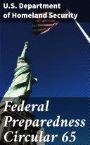 Federal Preparedness Circular 65 [Pdf/ePub] eBook