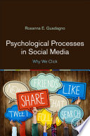 Psychological Processes in Social Media Book