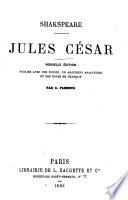 Jules C Sar Nouvelle Dition Publi E Avec Une Notice Un Argument Analytique Et Des Notes En Fran Ais Par C Fleming